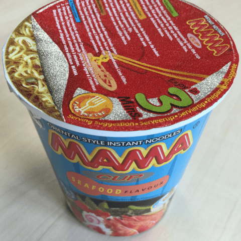 """#398: Mama """"Seafood Flavour"""" Cup Noodles"""