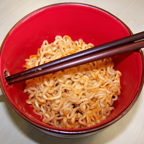 "#400: Samyang ""Spicy Chicken Roasted"" Fried Noodles"