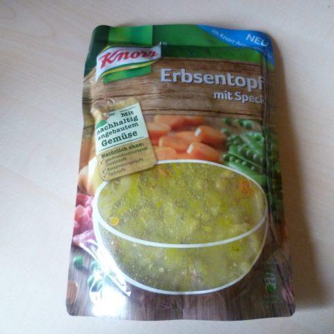 "#401: Knorr Aromapack ""Erbsentopf mit Speck"""