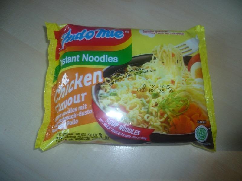 "#405: Indomie Instant Noodles ""Chicken Flavour"" (Huhngeschmack-Gusto Pollo-Sabor Pollo)"