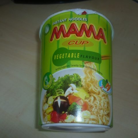 "#407: Mama Cup ""Vegetable Flavour"""