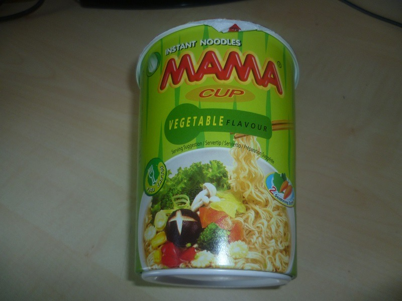 """#407: Mama Cup """"Vegetable Flavour"""""""