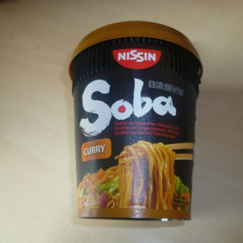 """#410: Nissin Soba Cup """"Curry"""""""