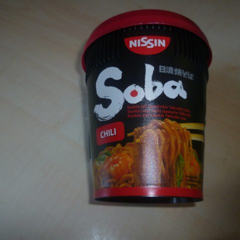 "#414: Nissin Soba Cup ""Chili"""