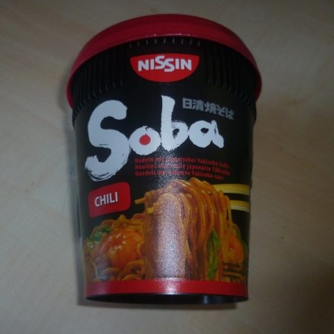 """#414: Nissin """"Soba Chili"""" Cup Noodles Wok Style"""