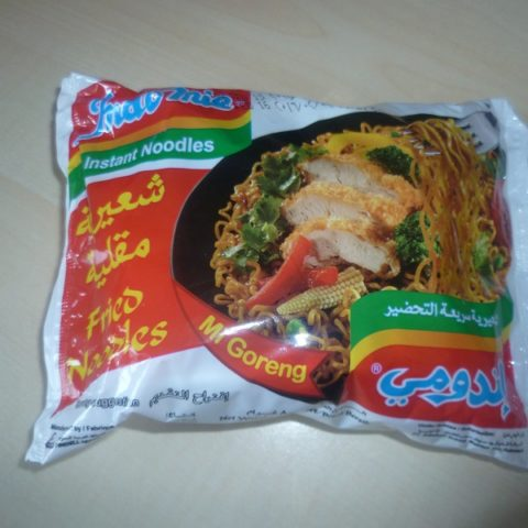 "#422: Indomie Instant Noodles ""Mi Goreng"" (Arabische Version)"