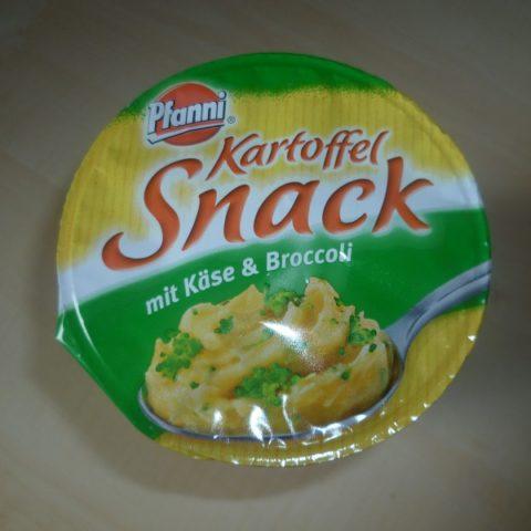 "#428: Pfanni ""Kartoffel Snack"" mit Käse & Broccoli"