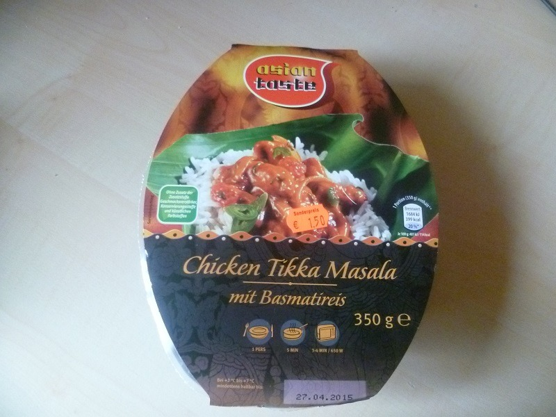 "#430: Asian Taste ""Chicken Tikka Masala"""
