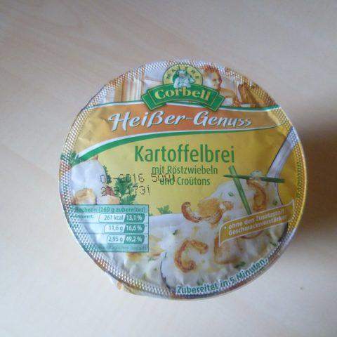 """#432: Maitre Corbell """"Heißer-Genuss"""" Kartoffelbrei mit Röstzwiebeln und Croutons"""