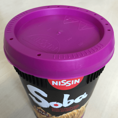 "#417: Nissin Soba Cup ""Thai-Curry"" Instant Noodles"