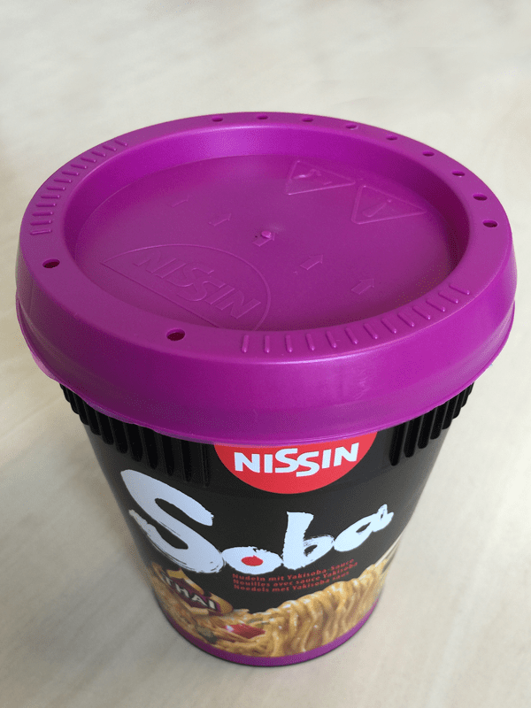 """#417: Nissin Soba Cup """"Thai-Curry"""" Instant Noodles"""