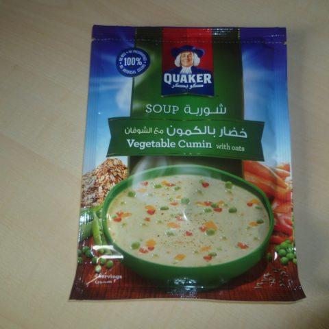 "#436: Quaker Oats Soup ""Vegetable Cumin"""