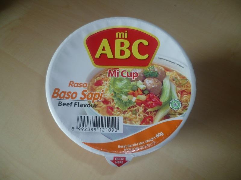 "#441: mi ABC ""Mi Cup"" Rasa Baso Sapi (Beef Flavour)"