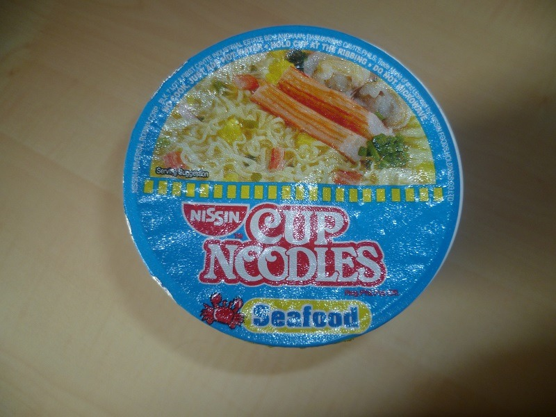 "#443: Nissin Cup Noodles ""Seafood"" (Phillippinische Version)"