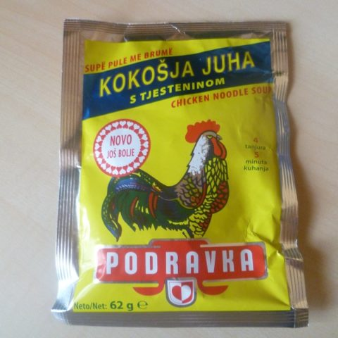"#451: Podravka ""Kokošja Juha s Tjesteninom"" (Chicken Noodle Soup)"