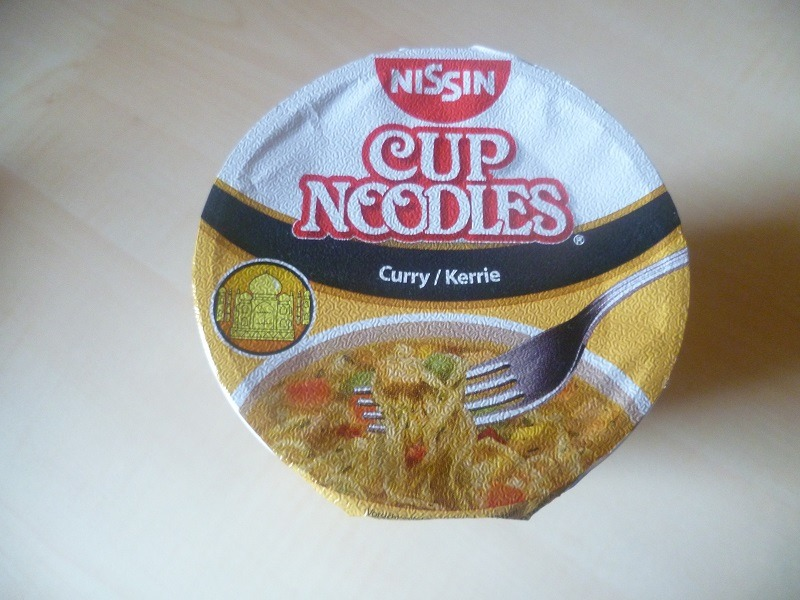 "#452: Nissin Cup Noodles ""Curry"""