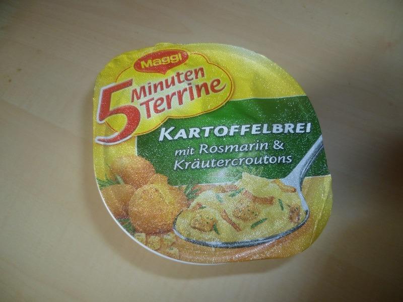 """#453: Maggi 5 Minuten Terrine """"Kartoffelbrei mit Rosmarin & Kräutercroutons"""""""