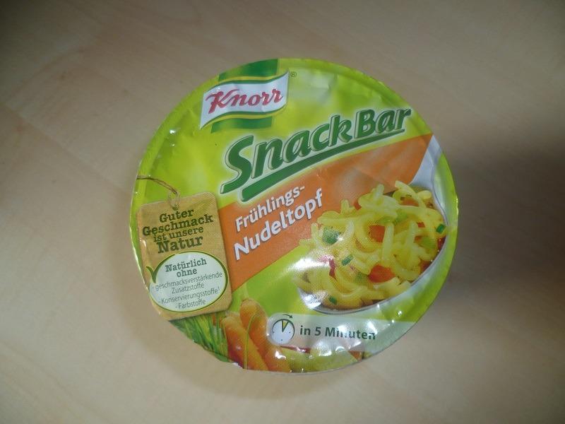 """#458: Knorr Snack Bar """"Frühlings-Nudeltopf"""""""