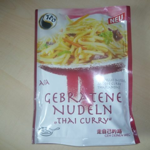 "#459: Tao Asia ""Gebratene Nudeln Thai Curry"""