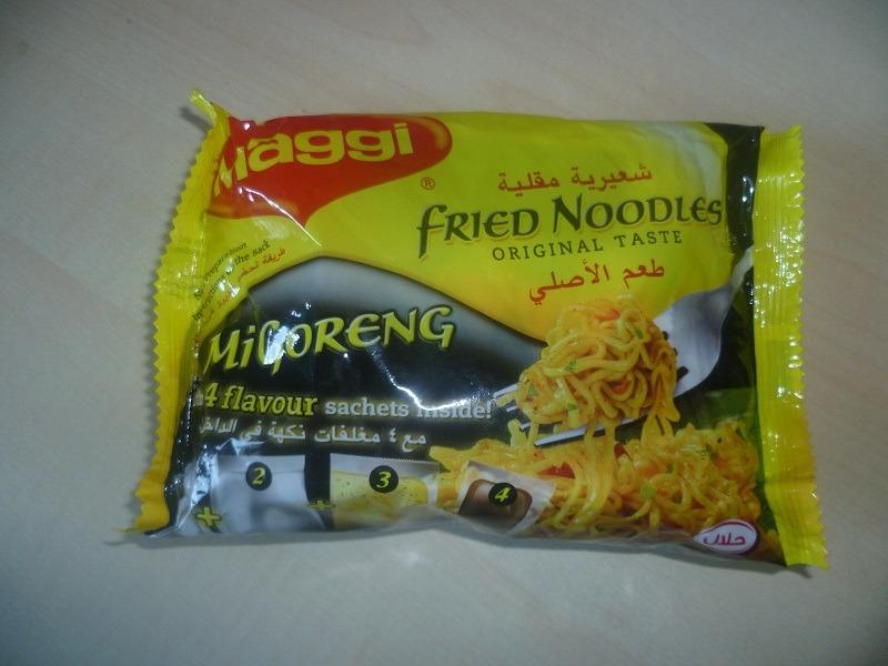 "#461: Maggi ""Mi Goreng"" Fried Noodles Original Taste"