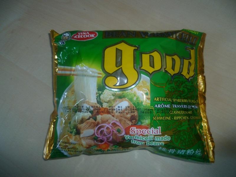 "#463: Vina Acecook ""Good Bean Vermicelli"" Artificial Spareribs Flavour"