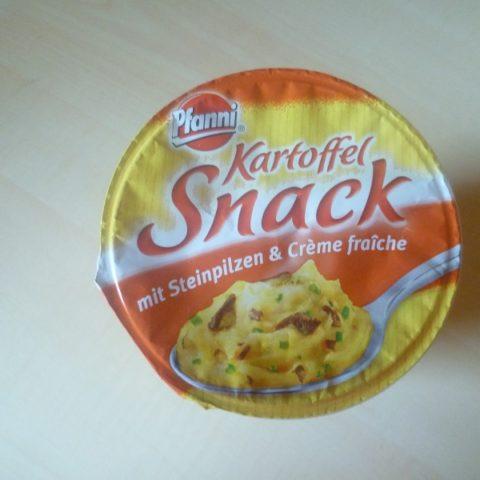"""#464: Pfanni """"Kartoffel Snack"""" mit Steinpilzen & Creme Fraiche"""