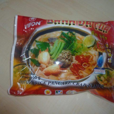 """#465: Vifon """"Bánh đa cua ăn liền"""" Instant Rice Pancake Crab Flavor"""