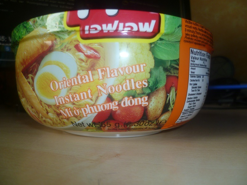 """#467: Fashion Food """"Oriental Flavour Instant Noodles"""""""