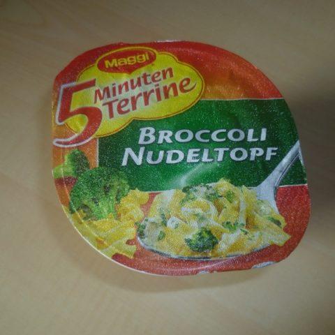 "#468: Maggi 5 Minuten Terrine ""Broccoli Nudeltopf"""