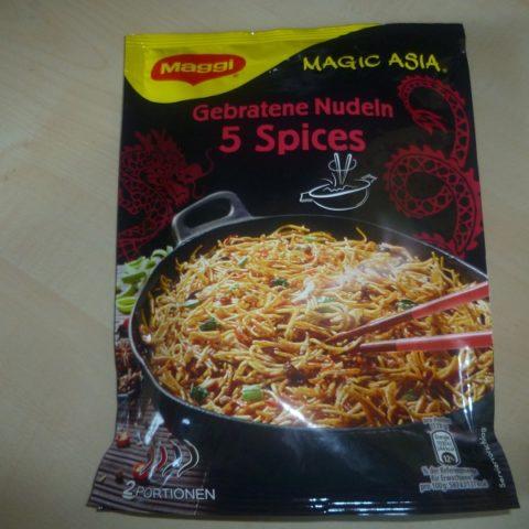 """#473: Maggi Magic Asia """"Gebratene Nudeln 5 Spices"""""""