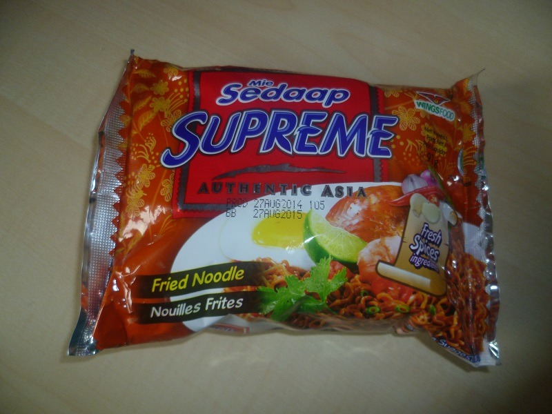 "#475: Wingsfood ""Mie Sedaap Supreme"" Authentic Asia Fried Noodle"