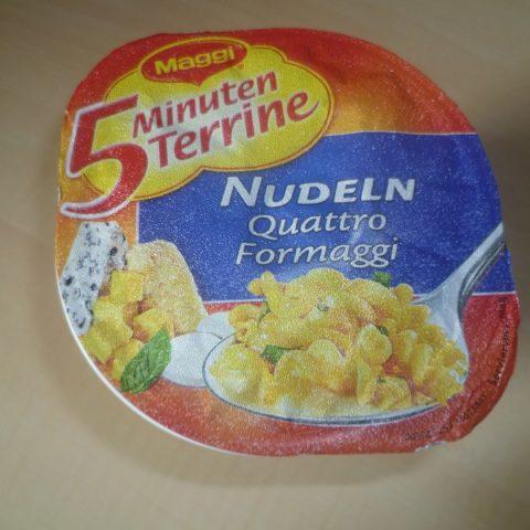 """#477: Maggi 5 Minuten Terrine """"Nudeln Quattro Formaggi"""""""