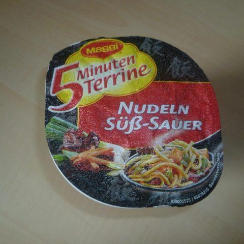 """#489: Maggi 5 Minuten Terrine """"Nudeln Süß-Sauer"""""""