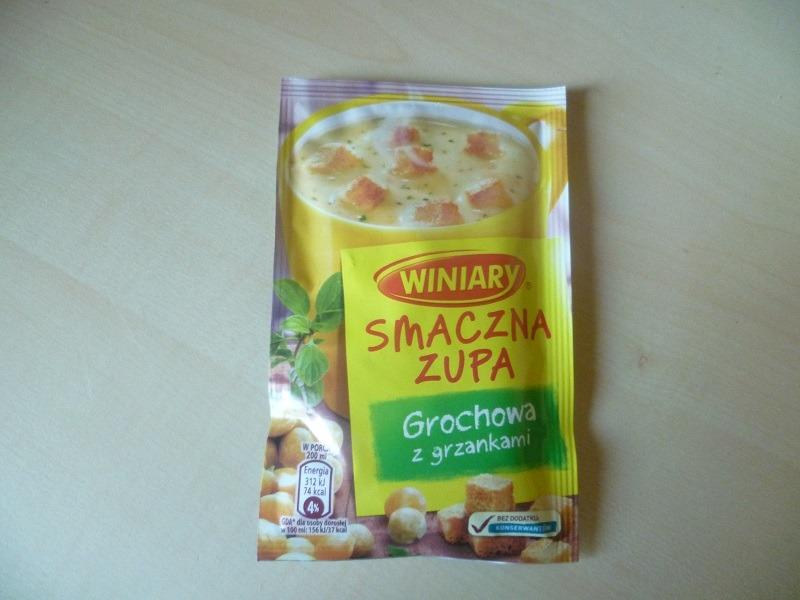 """#490: Winiary Smaczna Zupa """"Grochowa z grzankami"""""""