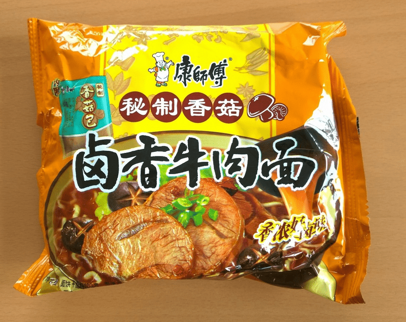 """#478: Master Kong  """"Braised Beef with Mushrooms"""""""