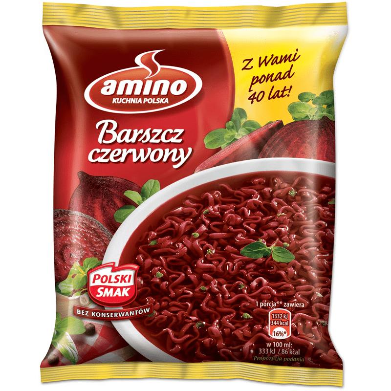 """#460: amino Kuchnia Polska """"Barszcz czerwony"""""""