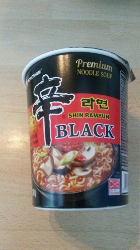 """#508: Nongshim """"Shin Ramyun Black"""" Cup"""