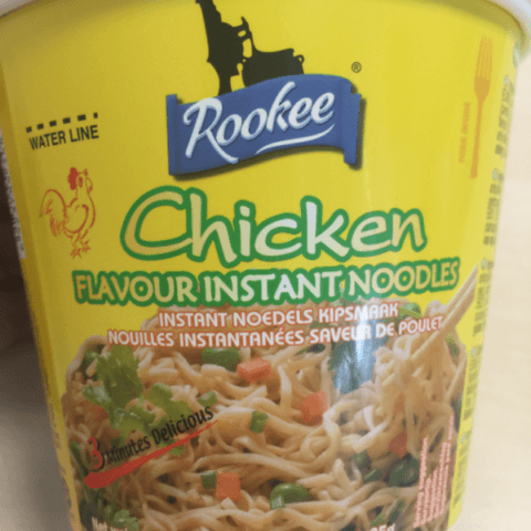 "#511: Rookee ""Chicken Flavour Instant Noodles"""