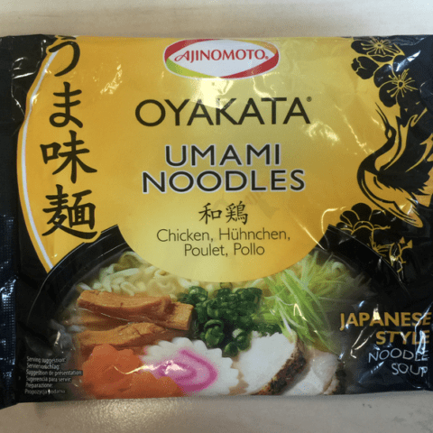 "#542: Ajinomoto ""Oyakata Umami Noodles"""