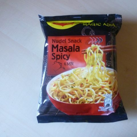 "#491: Maggi Magic Asia ""Nudel Snack Masala Spicy"""