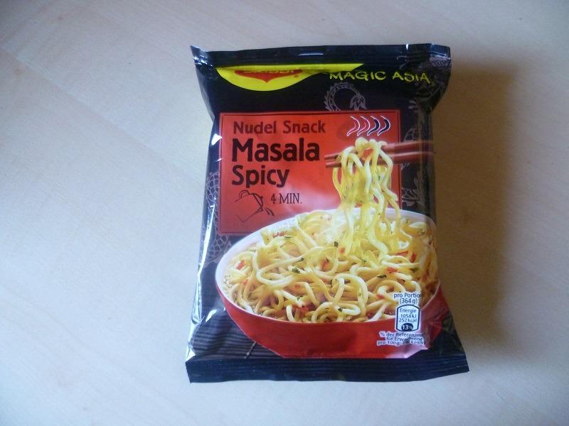 """#491: Maggi Magic Asia """"Nudel Snack Masala Spicy"""""""