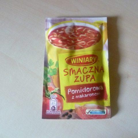 """#496: Winiary Smaczna Zupa """"Pomidorowa z makaronem"""""""
