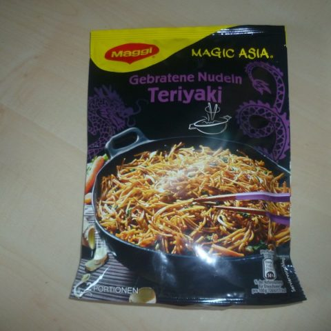 "#497: Maggi Magic Asia ""Gebratene Nudeln Teriyaki"""