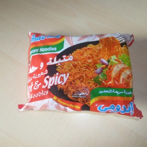 "#498: Indomie Instant Noodles ""Hot & Spicy Fried Noodles"" (Mi Goreng Pedas)"