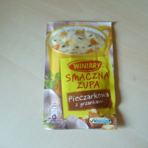 """#506: Winiary Smaczna Zupa """"Pieczarkowa z grzankami"""""""