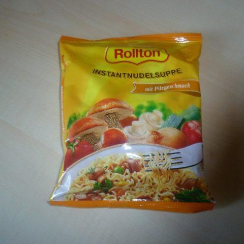 """#510: Rollton """"Instantnudelsuppe mit Pilzgeschmack"""""""