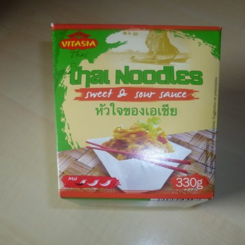 "#515: Vitasia ""Thai-Nudeln mit süß-saurer Sauce"""