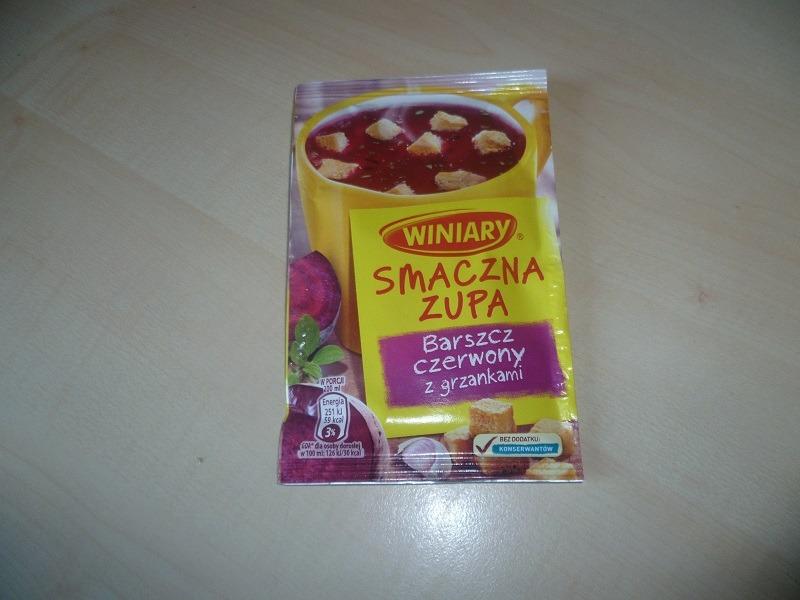"""#516: Winiary Smaczna Zupa """"Barszcz czerwony z grzankami"""""""