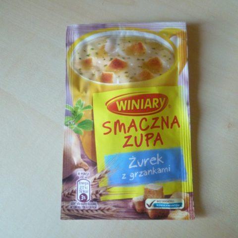 """#519: Winiary Smaczna Zupa """"Żurek z grzankami"""""""
