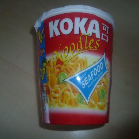 "#521: Koka Noodles ""Seafood Flavour"" Cup"
